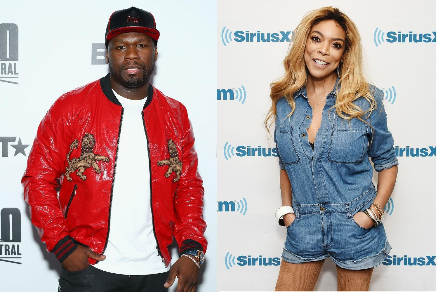 50 Cent Hops On The Shade Wagon Again And Disses Charlamagne Tha God After He Asks Wendy Williams To Dinner