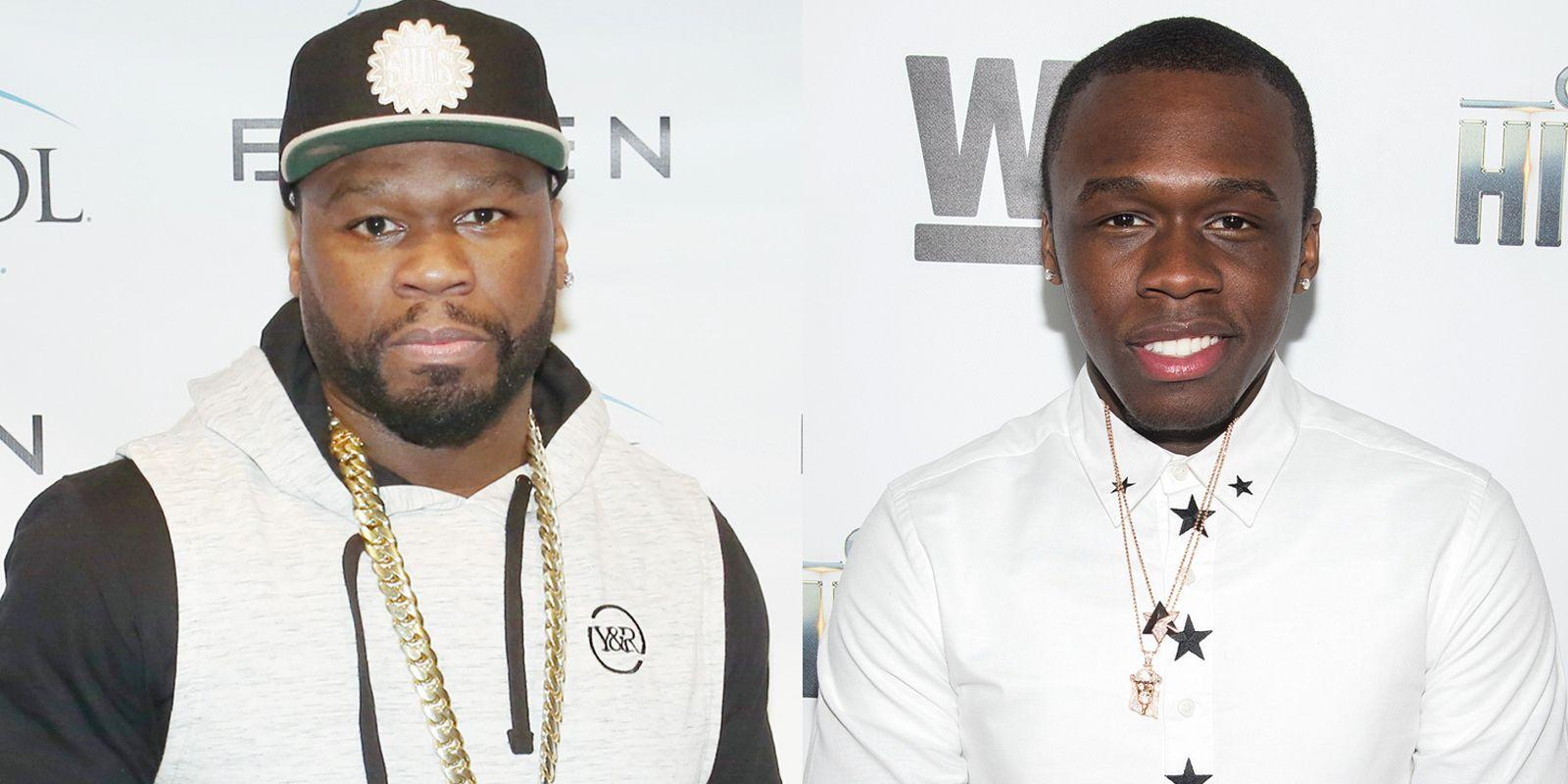 50 Cent's Estranged Son Shades Him - 'He Owes Me Money Too'