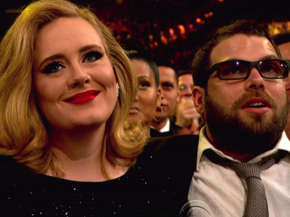 Adele's Estranged Husband Simon Reportedly Texting With His Ex Before Their Split