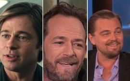 Brad Pitt And Leonardo DiCaprio Were Starstruck Working With Luke Perry In Once Upon A Time In Hollywood