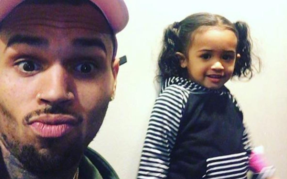 Chris Brown's Daughter Calls Her Dad 'Old' In Sassy And Cute 30th Birthday Video