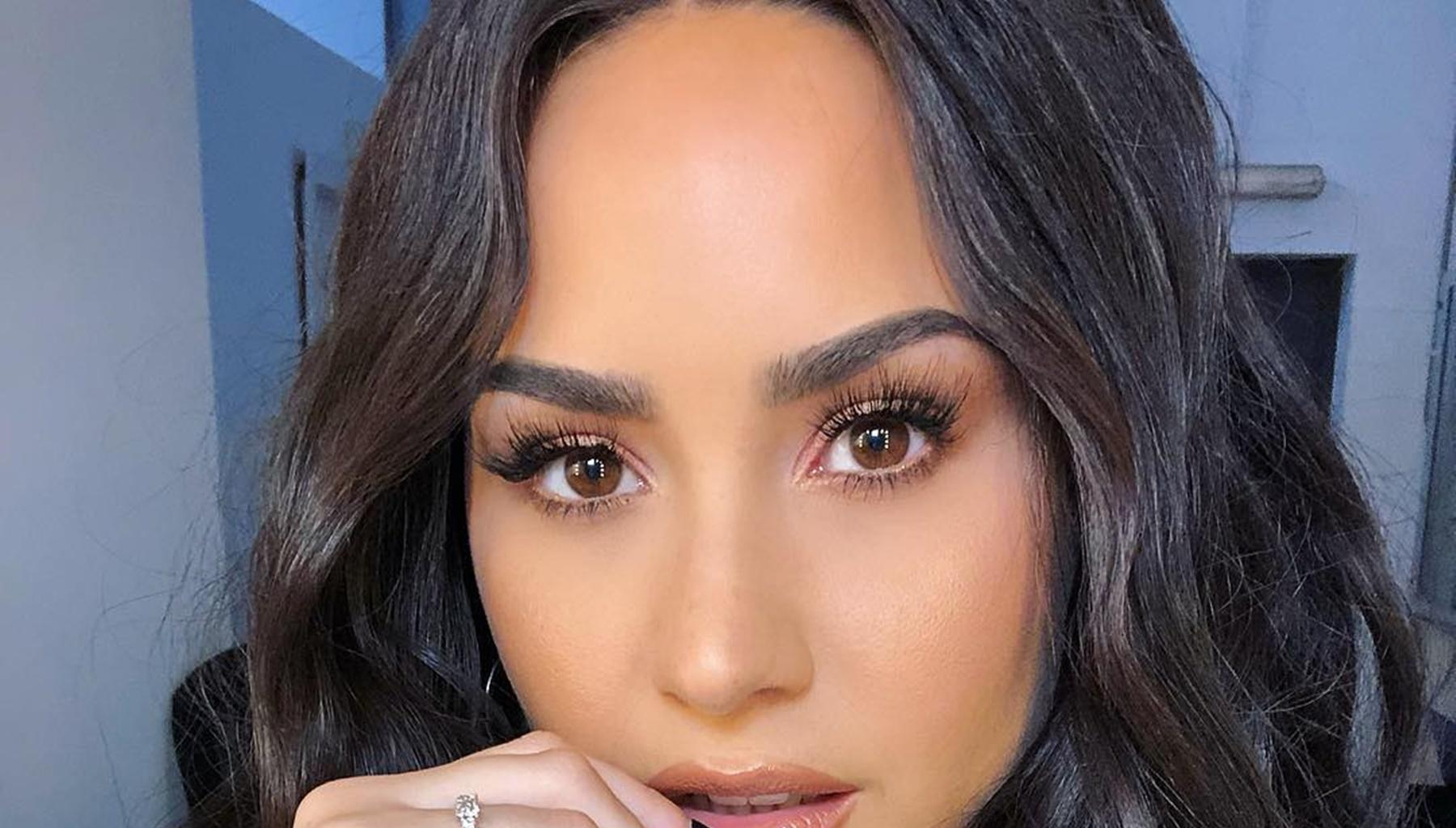 Demi Lovato Leaves Little To Fans' Imagination With Alluring Barely-There Bathing Suit Pictures