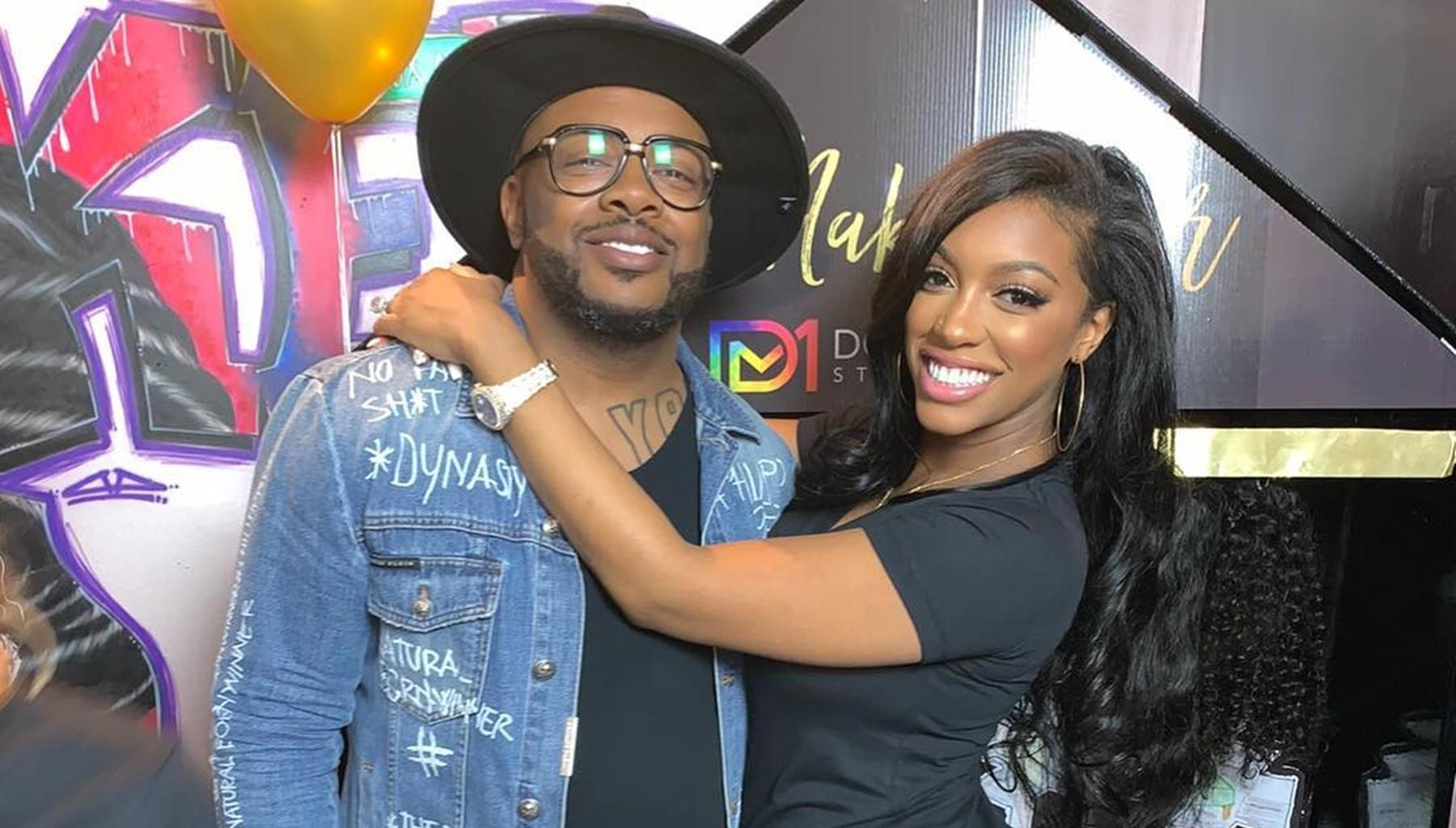 Porsha Williams Shows Off Her Mama Curves In Tight White Dress And Sends Fiery Message To The Hater Who Body Shamed Her While She Was Pregnant