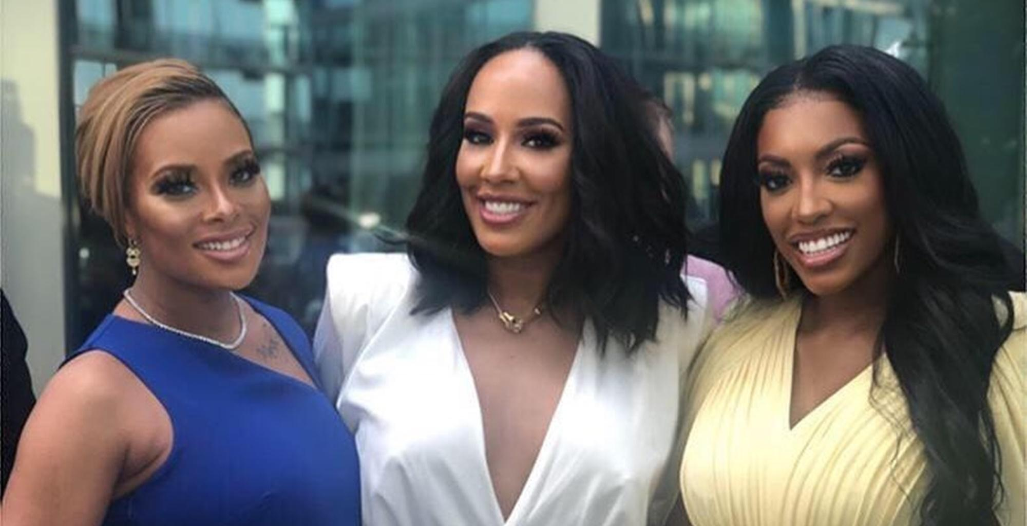 Porsha Williams And Eva Marcille Enjoy Date Night In Cute Picture -- Here Is Why Dennis McKinley Stole The Show For 'RHOA' Fans