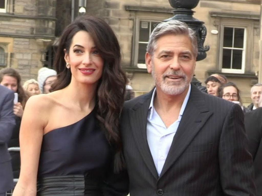 George Clooney Fears For Kids Safety As Wife Amal Begins High Profile Case