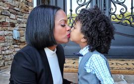 Kandi Burruss Takes On The Debate Of Parents Kissing Their Children On The Lips Using This Photo With Ace -- Does Todd Tucker's Wife Have A Point?