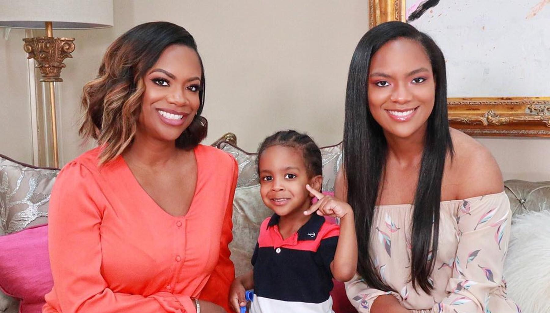 Kandi Burruss Is Getting Mommy-Shamed After Sharing Picture Of Her Son, Ace Tucker, With Long Hair -- Fans Of The Xscape Singer Hit Back At Critics