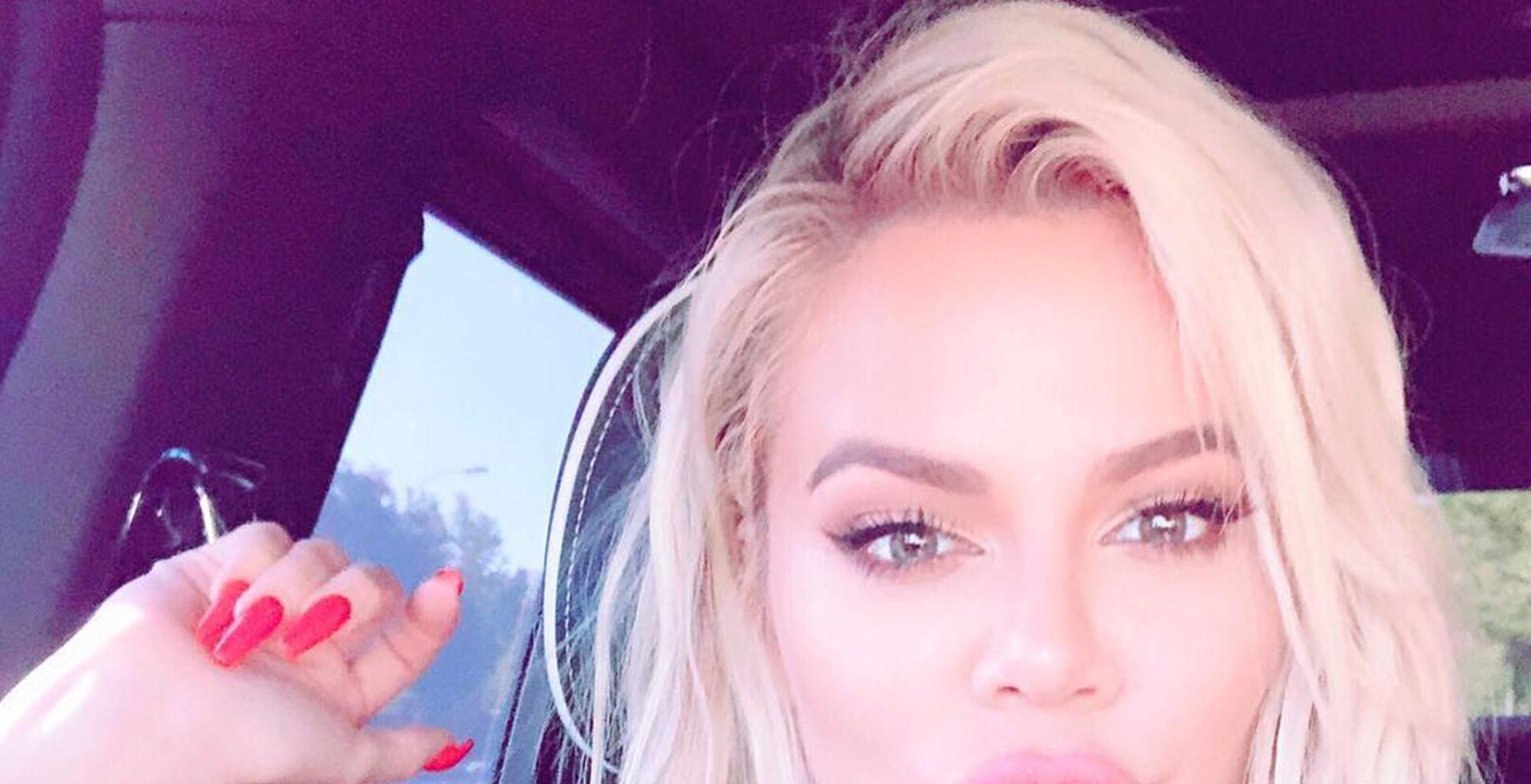 Khloe Kardashian Spotted In Leggings Out For A Lunch Break With Baby True -- She Looked Unrecognizable -- 'KUWTK' Fans Beg Tristan Thompson's Ex To Stop With The Plastic Surgery