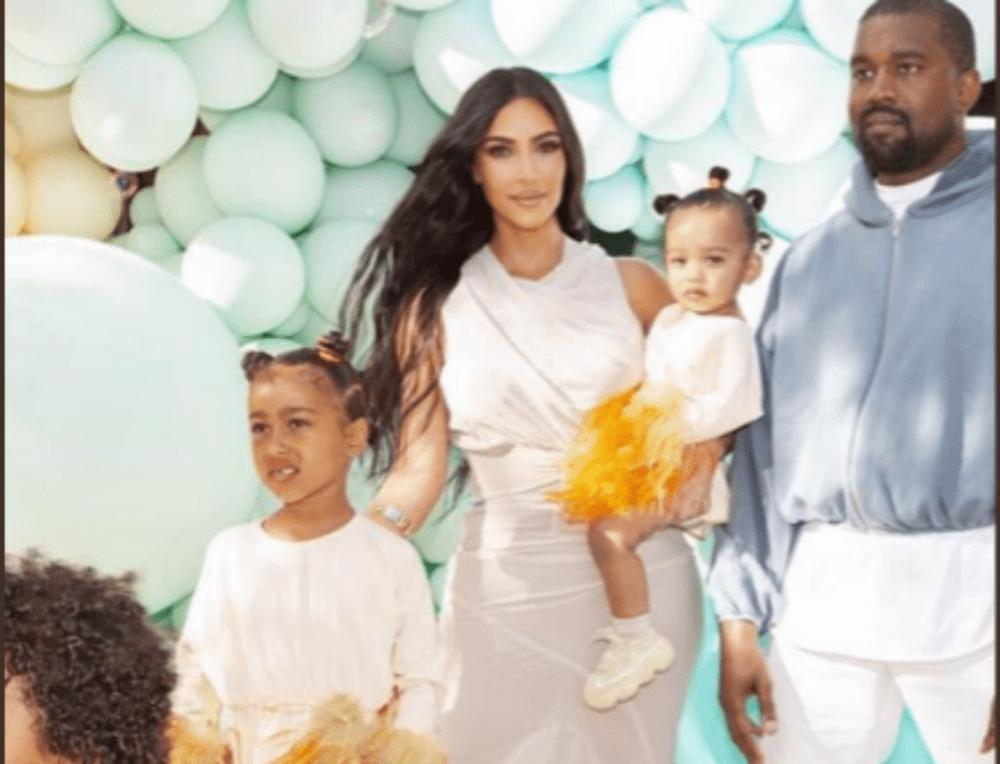 Kim Kardashian West Shares Photos Of North And Chicago At Baby True's Birthday Party