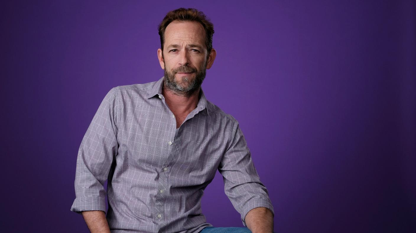 Luke Perry's Daughter Reveals He Was Buried Wearing An Eco-Friendly Mushroom Suit - Details!