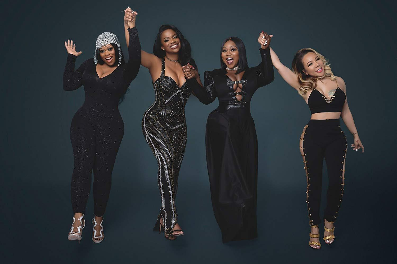Tiny Harris And Tamika Scott Are Showing Off Their Best Angles On Camera And Kandi Burruss Is Here For It