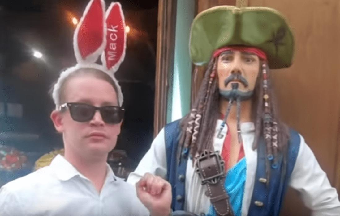 Watch Macaulay Culkin Point At France In New Video
