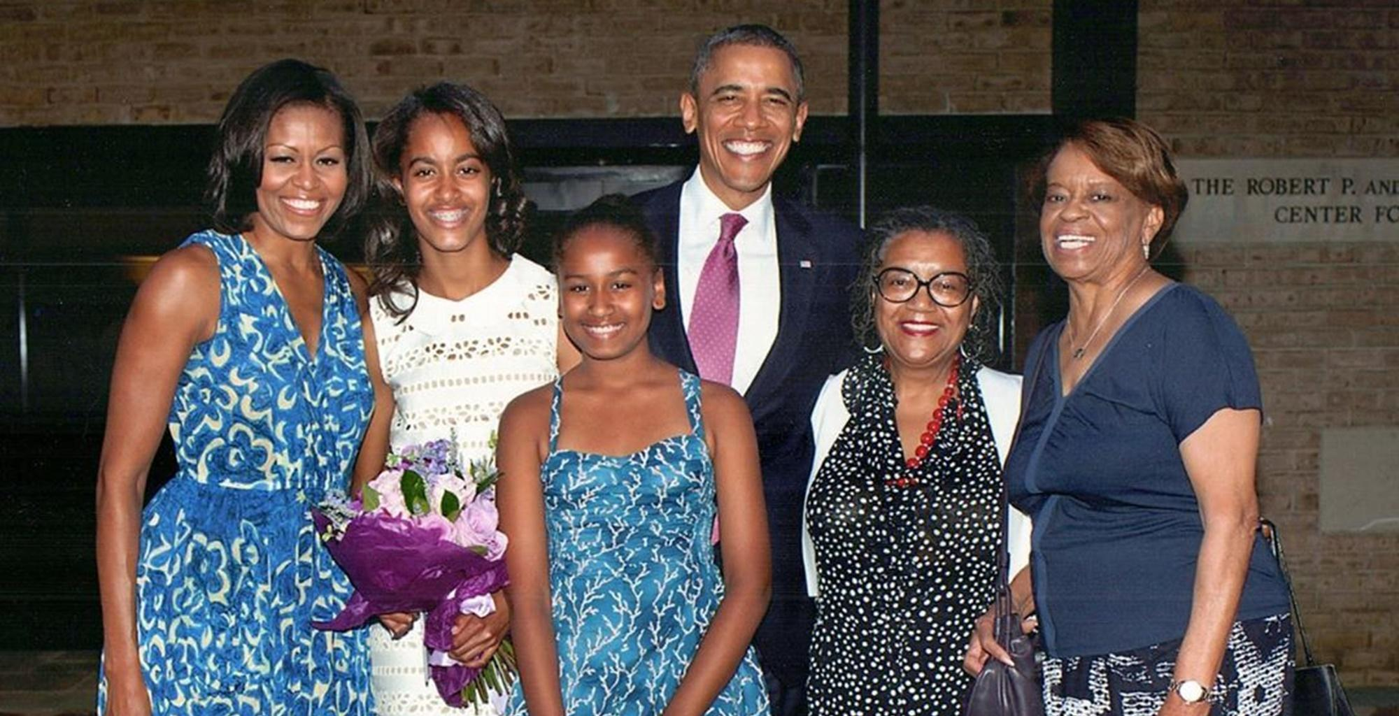 Michelle Obama Shares Mother's Day Picture With Daughters Malia And Sasha