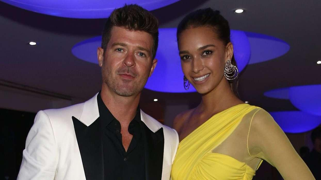 April Love Geary Claims She's Down To Have A Third Child With Robin Thicke