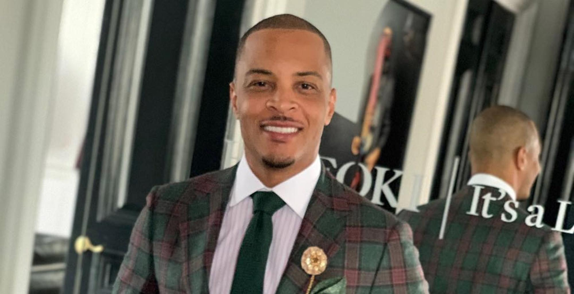 T.I. Leaves Little To Tiny Harris' Imagination With Custom Grey Joggers Picture -- Fans Say They Now Understand Why She Decided To Stay With Him After The Bernice Burgos Cheating Scandal