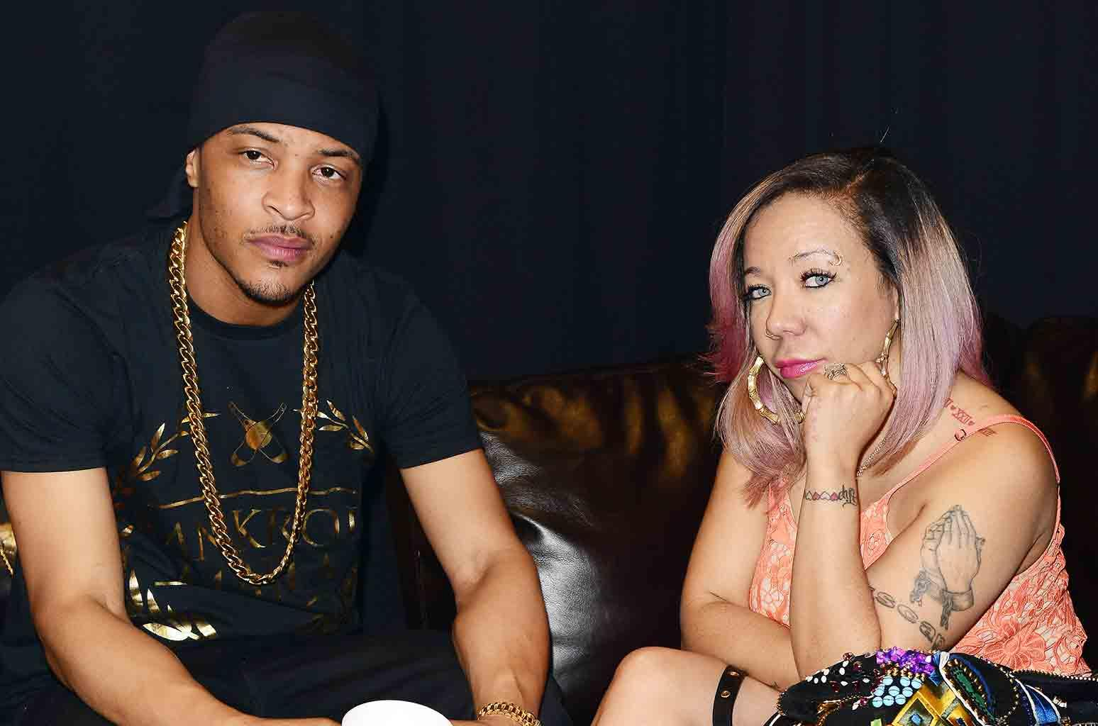Tiny Harris And T.I. Promote Domani Harris' New Music - Check Out The New Video