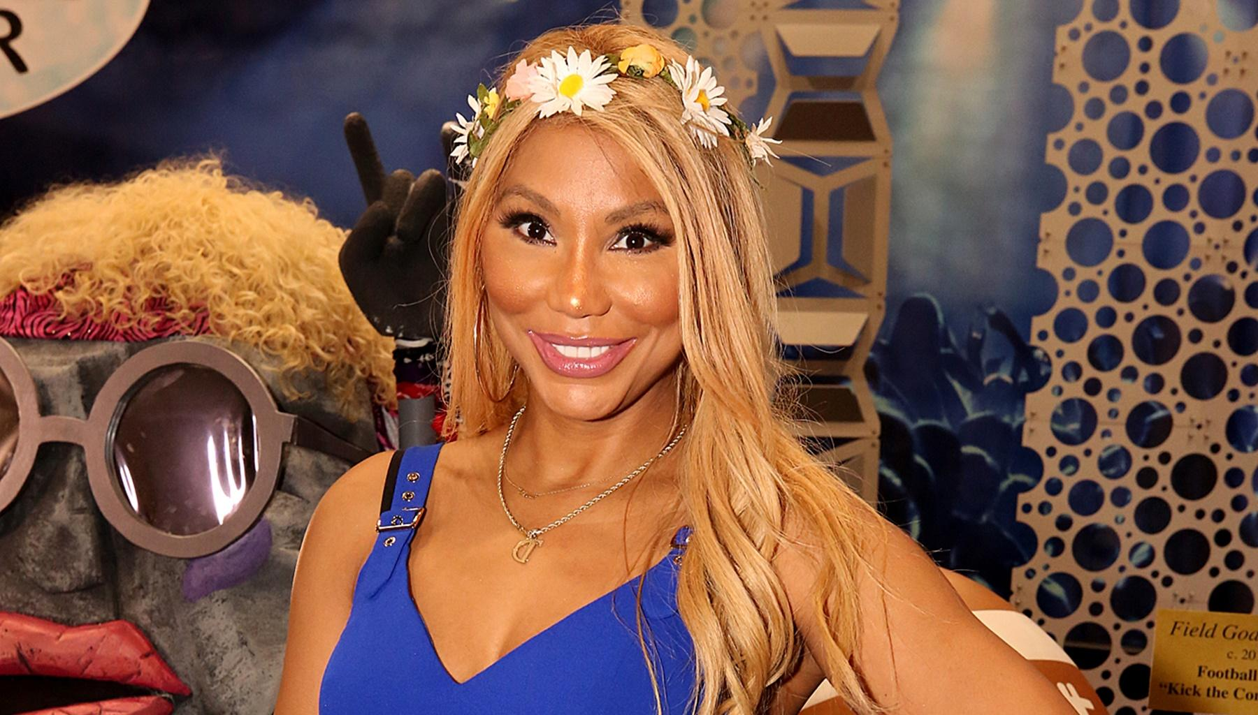 Tamar Braxton's Boyfriend, David Adefeso, Said 'She Has A Face Like An Angel And Body Like A Dungeon Mistress' After She Posted This Eye-Popping Video