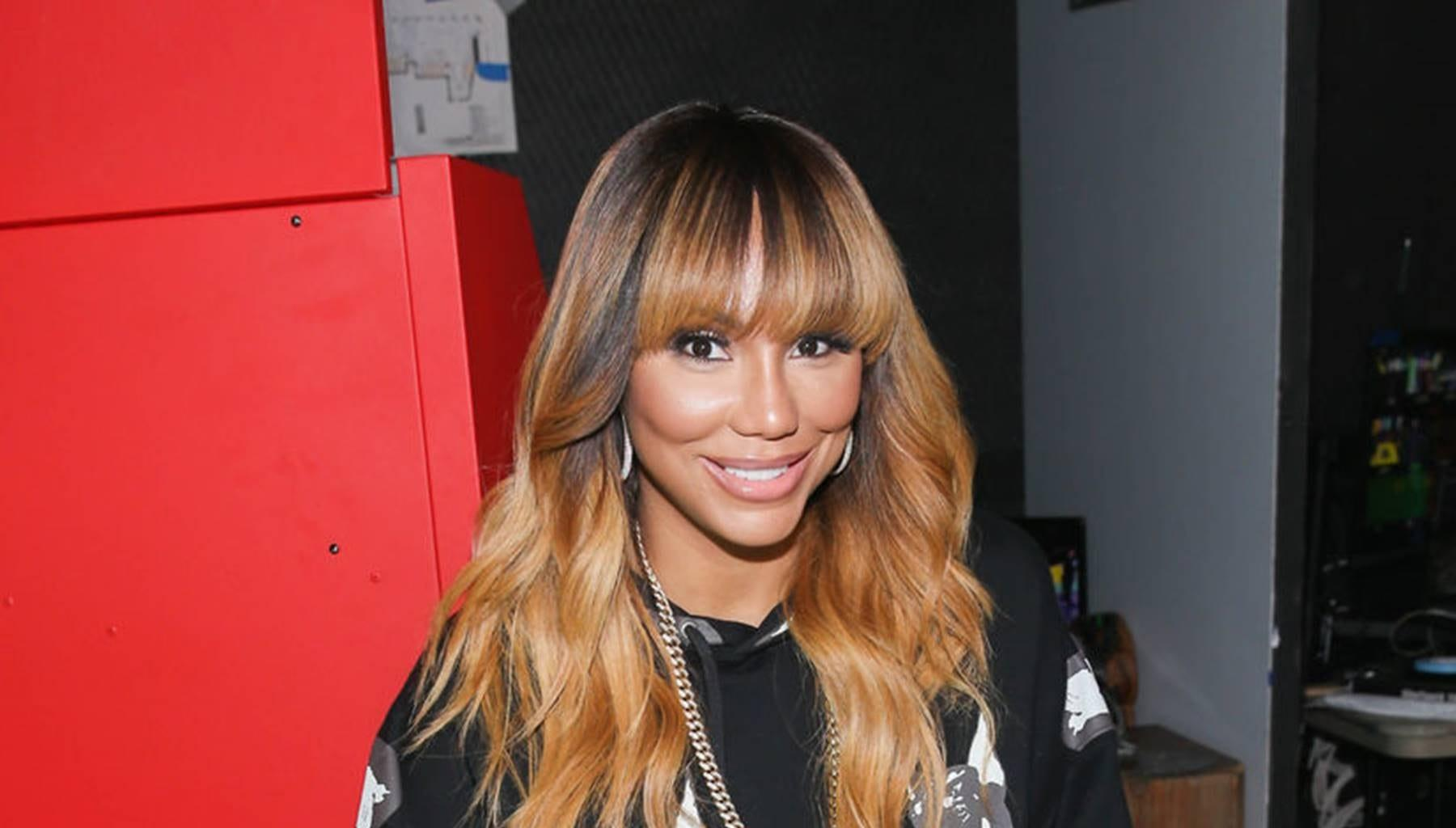 Tamar Braxton Cries After Her Son, Logan, And David Adefeso Teamed Up For This Huge Gesture On Her Special Day