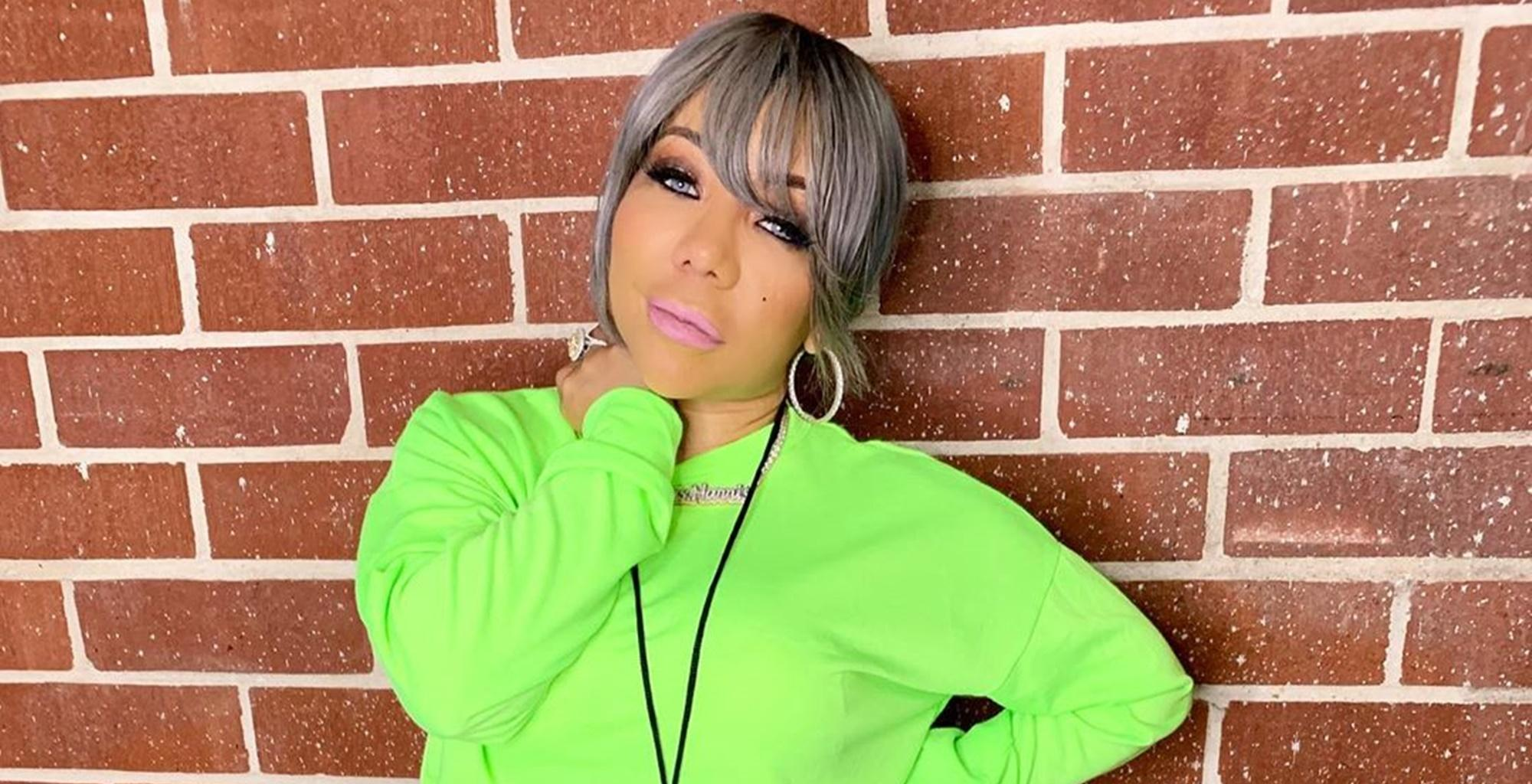 Tiny Harris Teams Up With Daughter Heiress To Make Lauren London Smile With This Sweet Tribute To Nipsey Hussle -- See The Video That Will Make T.I. Super Proud