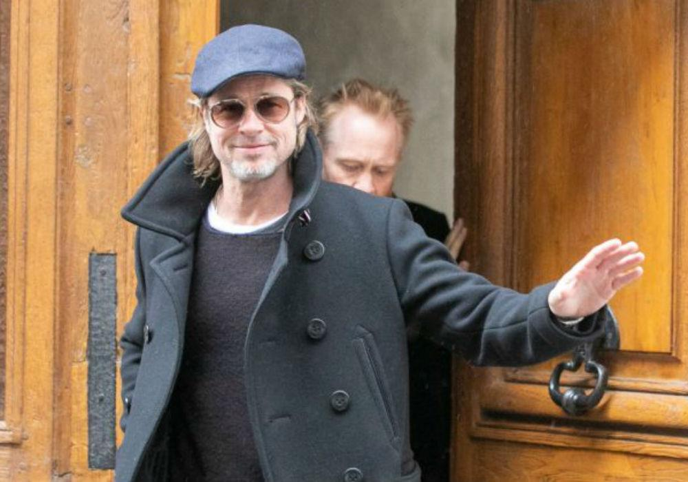 Brad Pitt Was Just Spotted Doing This And Nobody Even Noticed