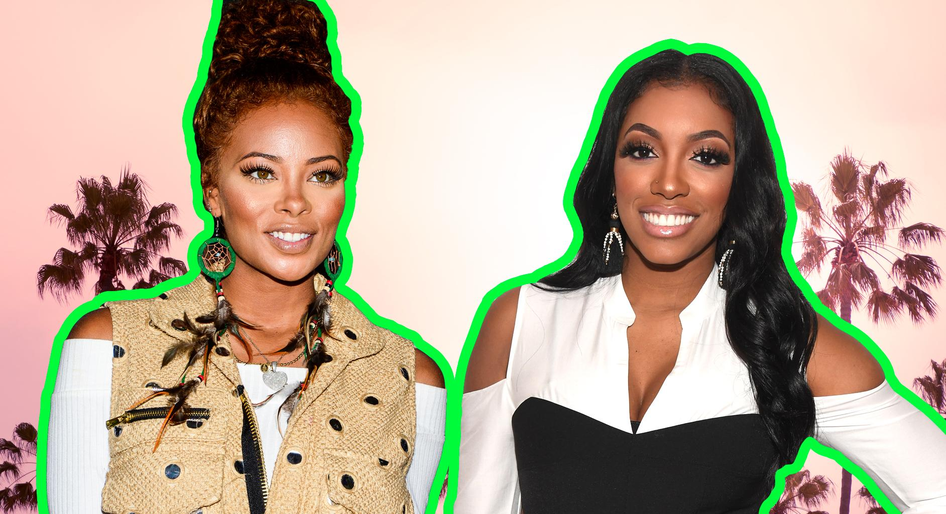 Porsha Williams Promotes Eva Marcille's Business And Fans Love To See The Ladies Supporting One Another