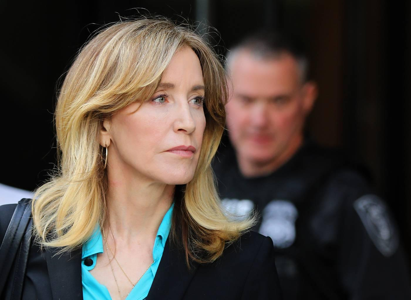 Felicity Huffman Tears Up While Pleading Guilty To InvolvementIn Operation Varsity Blues