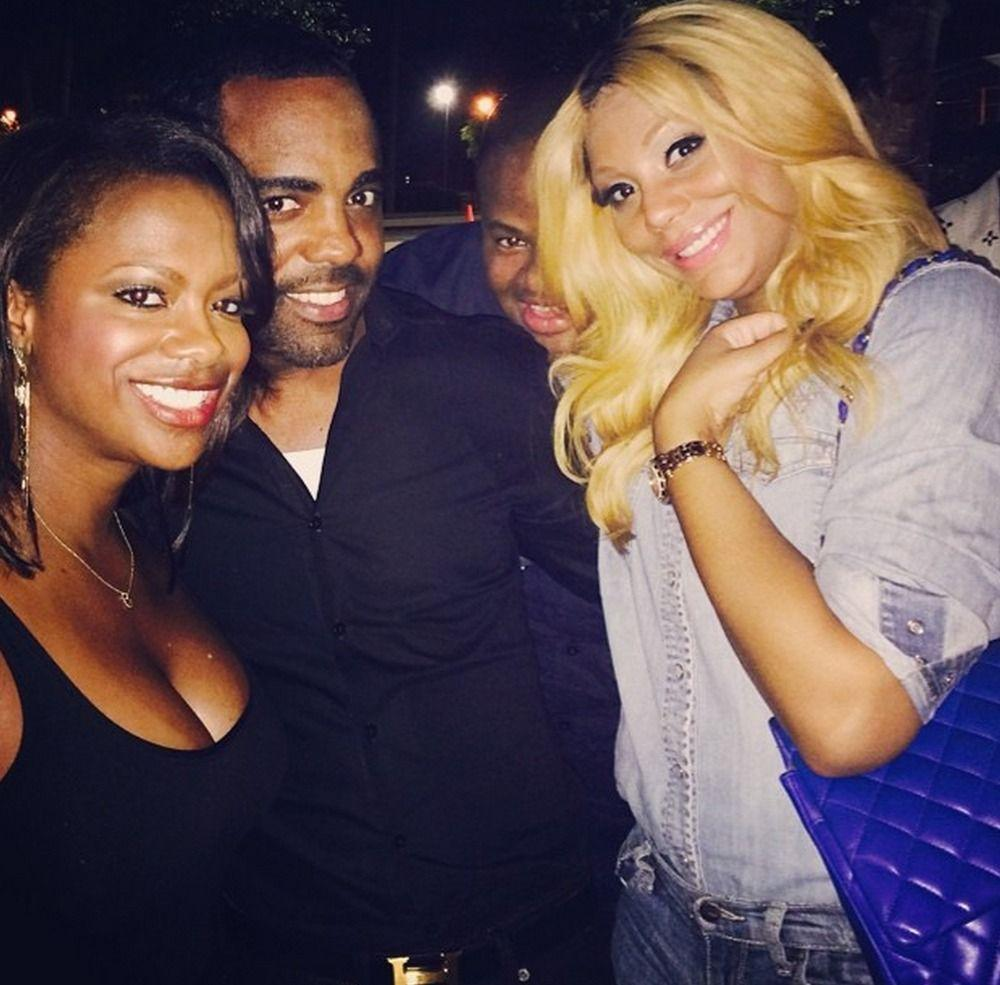 Kandi Burruss Invited Tamar Braxton For A Chat - Watch Their Juicy Conversation In The Video