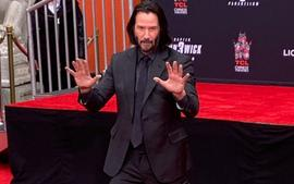 Watch Keanu Reeves Become Immortalized At Famous Grauman's Chinese Theatre Hand Ceremony — Video