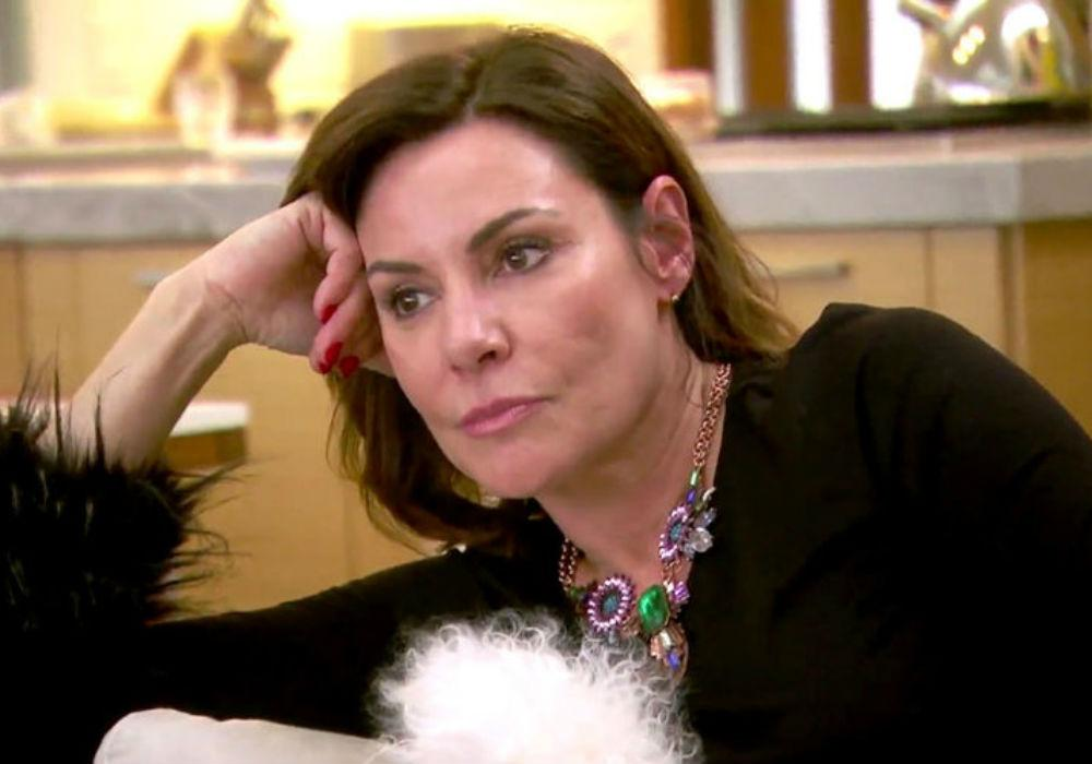 LuAnn De Lesseps On The RHONY Chopping Block As She Continues To Defy Judge's Orders To Stay Away From Booze