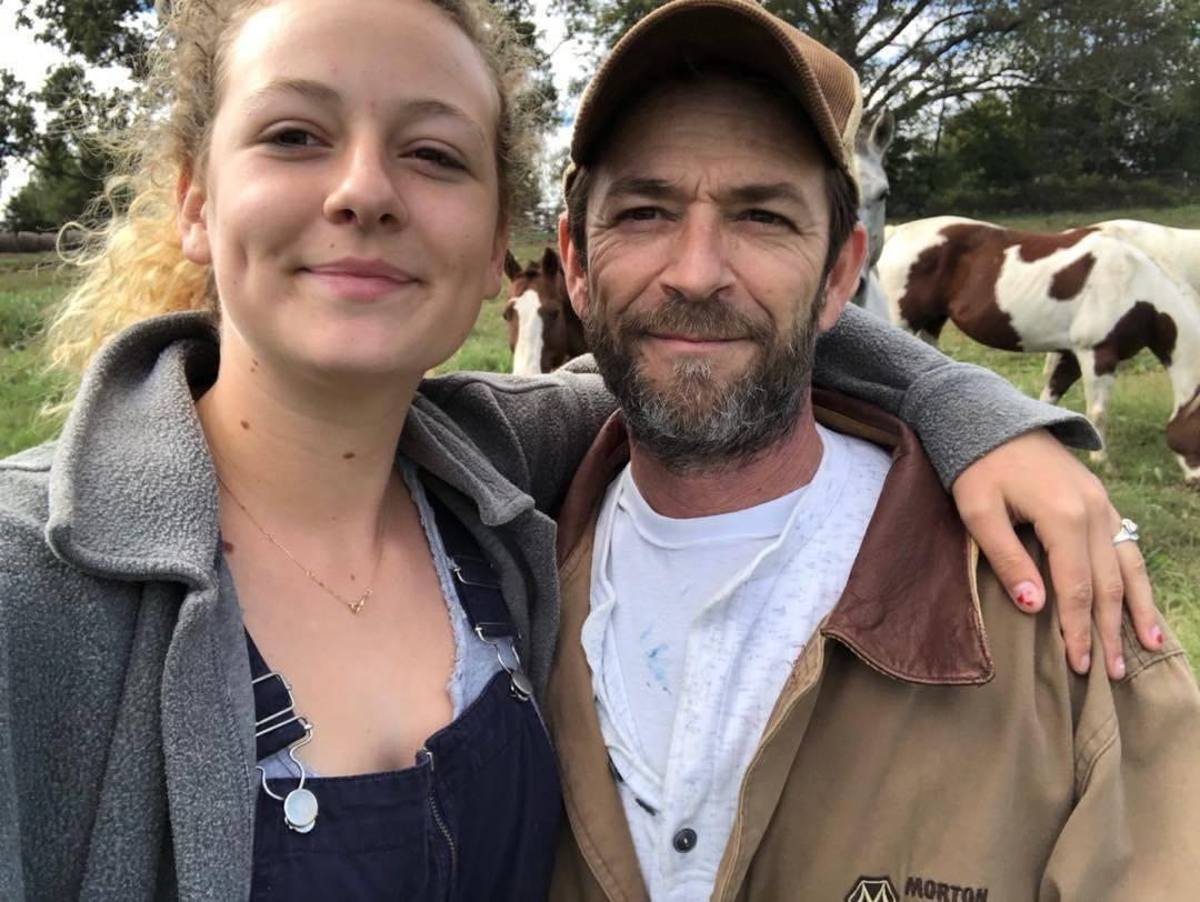 Luke Perry's Daughter Shows Off Tattoo She Got In His Honor