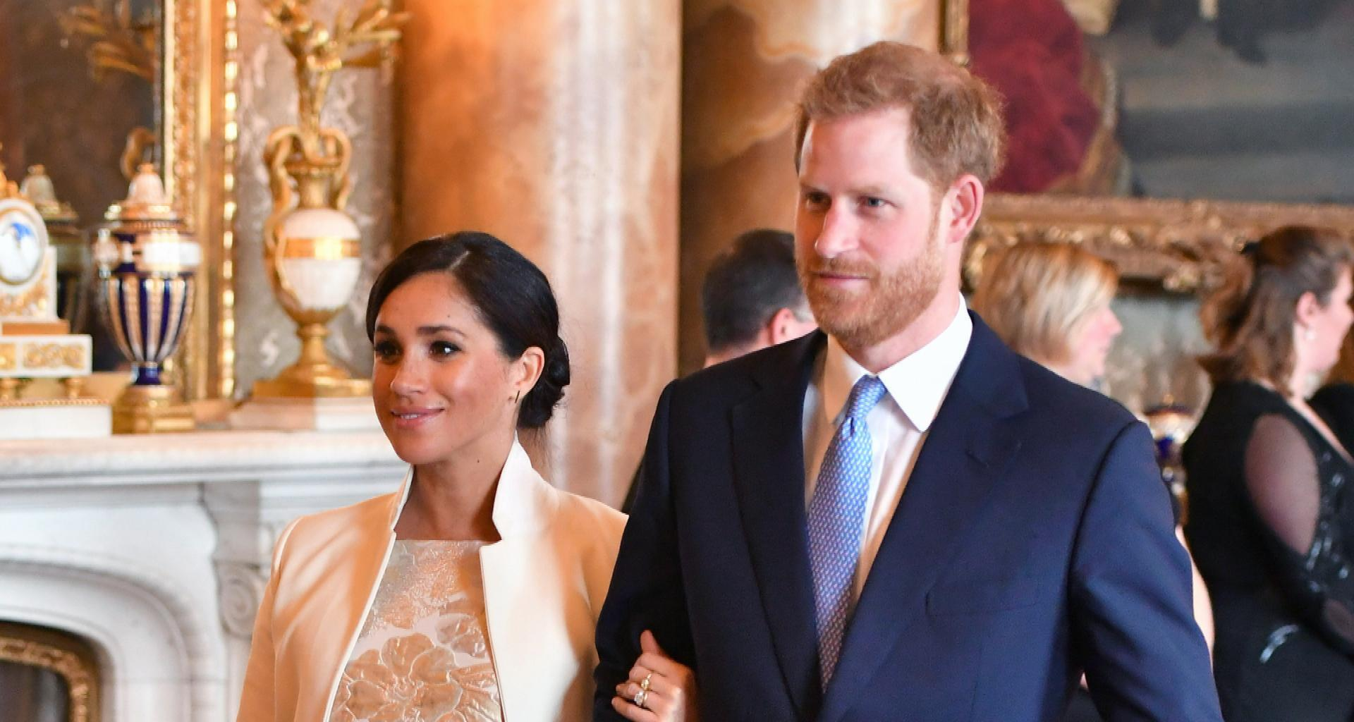 Meghan Markle And Prince Harry Planning To Move To California After Welcoming Their Baby!
