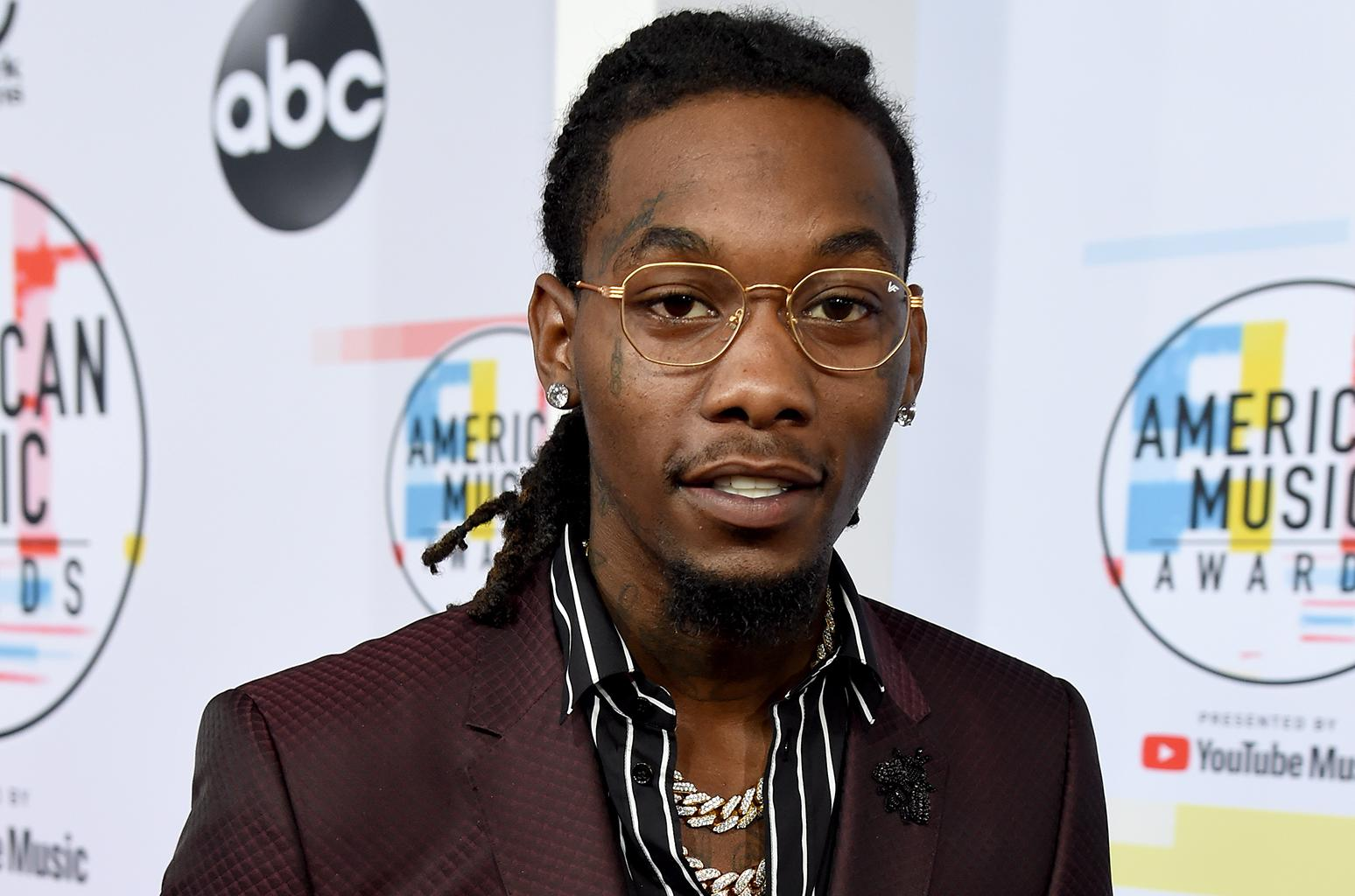 Offset Is Reportedly Safe After Scary Drive-By Shooting Happens At Recording Studio While He Was There