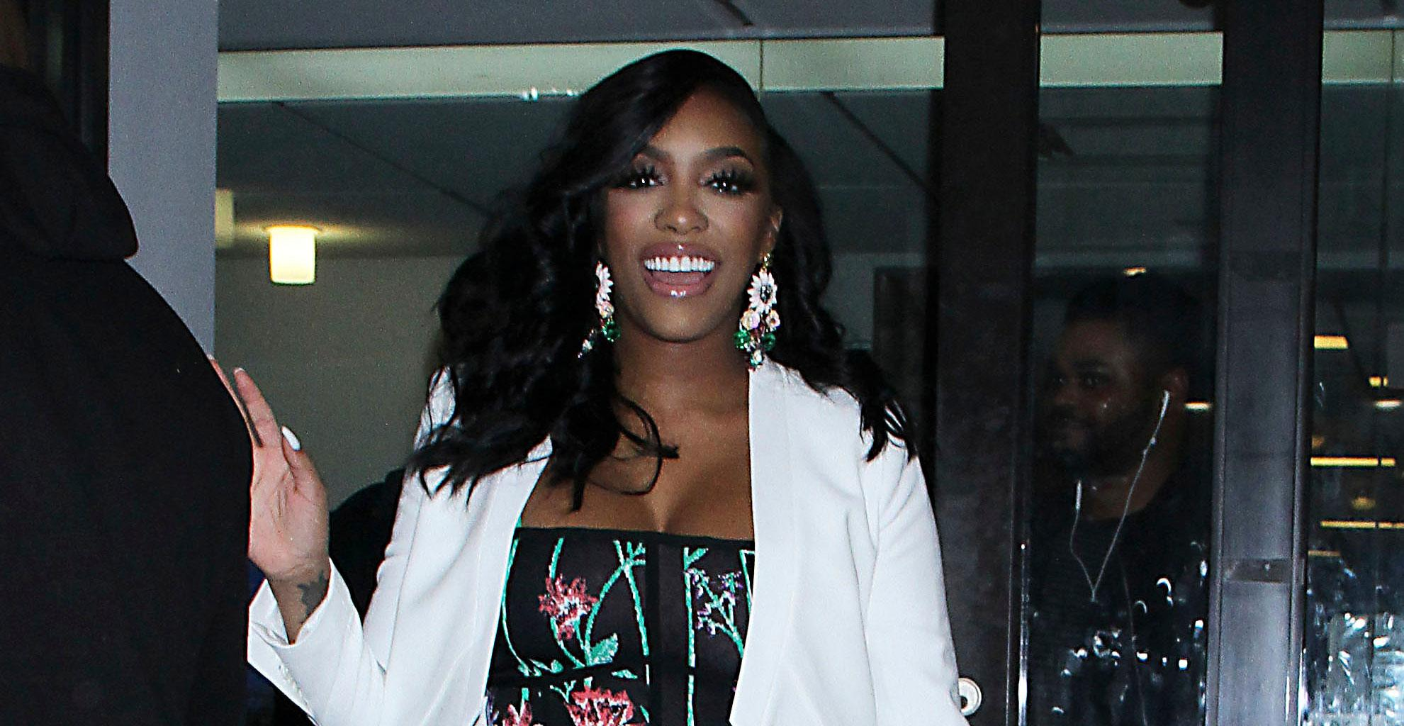 Porsha Williams Shows Fans Her Favorite Dress That She Could Wear Before And During Pregnancy - It's From Her Own Collection