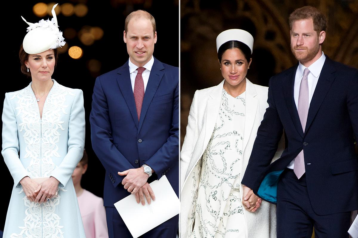 Prince William And Kate Middleton Congratulate Prince Harry And Meghan Markle On Welcoming Their Baby