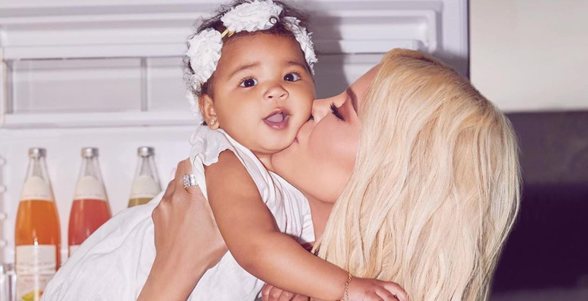 Khloe Kardashian Seems Radiant In Latest Photos With Baby True As She Deals With Lamar Odom's Shocking Revelations About Their Failed Marriage -- Here Is Where Fans Think She Is Finding The Strength To Carry On, Just Like With The Tristan Thompson Cheating Scandal