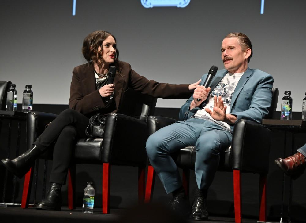 Ethan Hawke Thanks Winona Ryder At 'Reality Bites' Tribeca Film Festival Reunion — Watch Full Panel And Lisa Loeb Performance Of 'Stay'