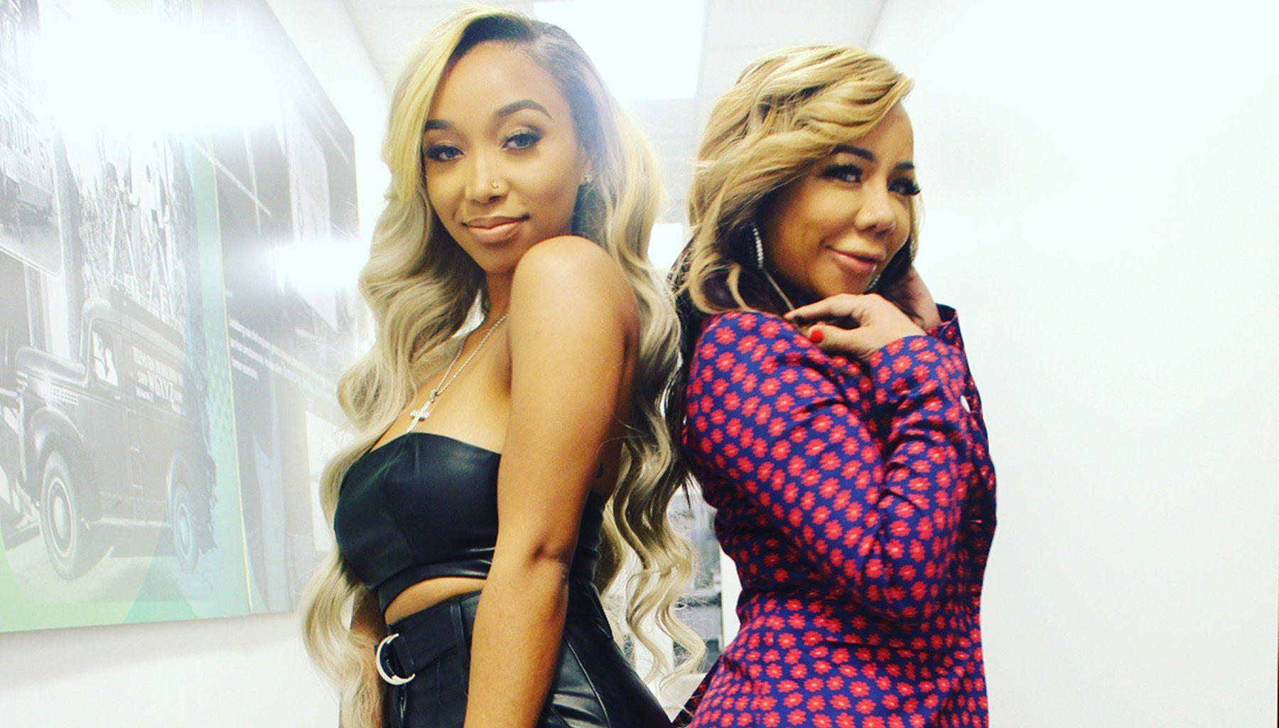 Tiny Harris Is A Woman Full Of Ambition In Her Latest Pics - She's Rocking A Little Black Dress