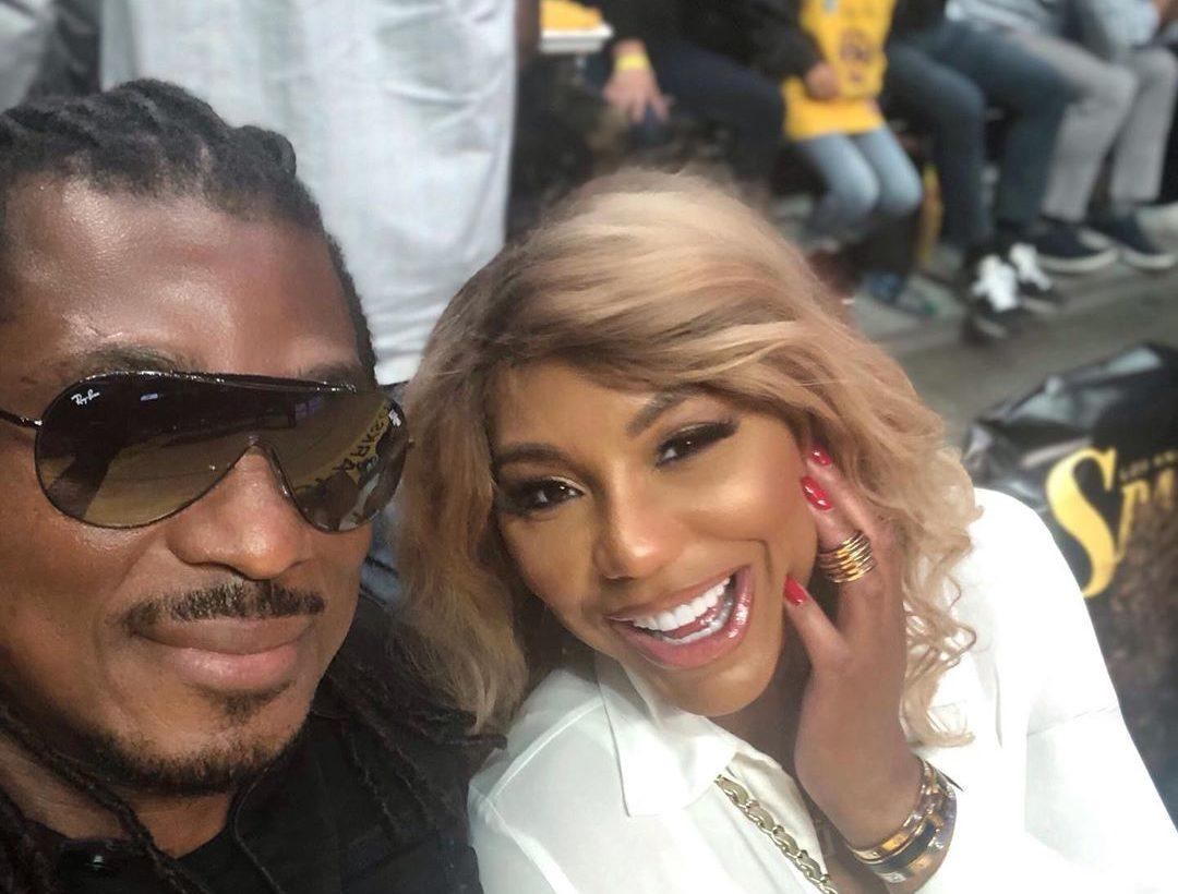 Tamar Braxton Gushes Over David Adefeso Who Went To The Range And Fired A Fully-Automatic Military-Grade Rifle