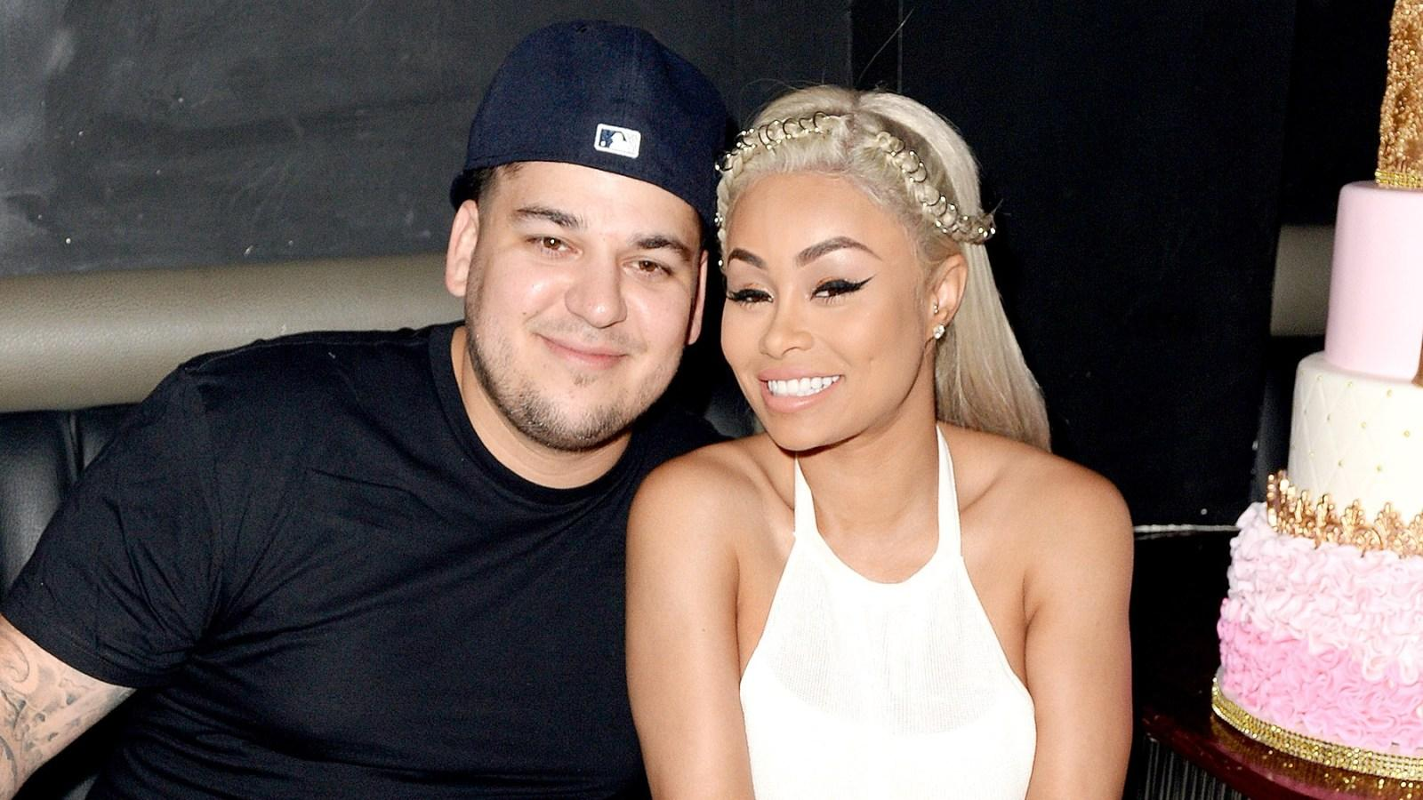 Blac Chyna Says She And 'Nice Guy' Rob Kardashian Are 'In A Good Place' After Latest Conflict!