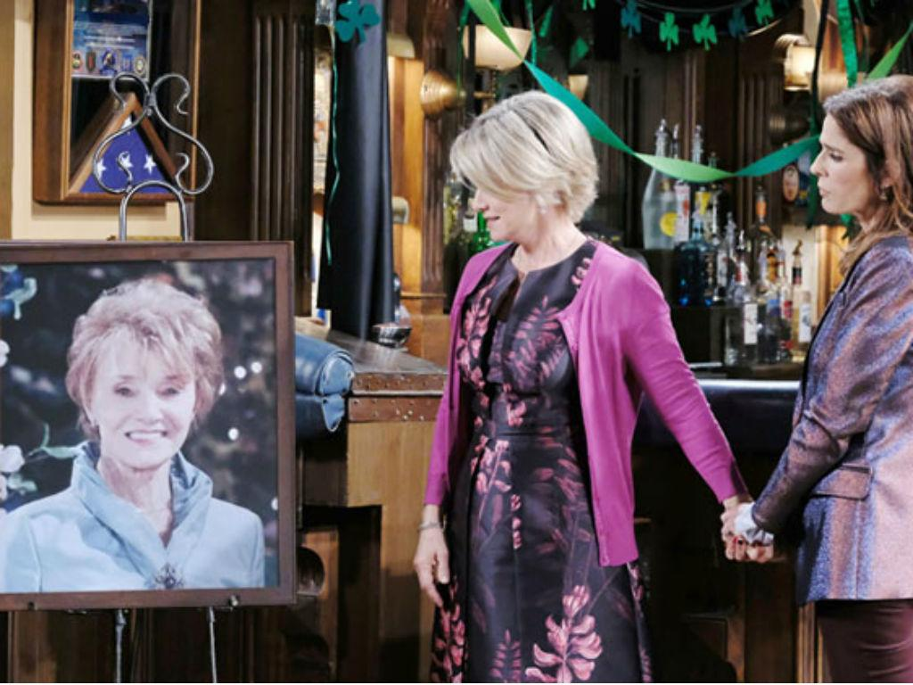 Days Of Our Lives Pays Tribute To Legendary Star Peggy McCay As Salem Mourns Caroline Brady This Week