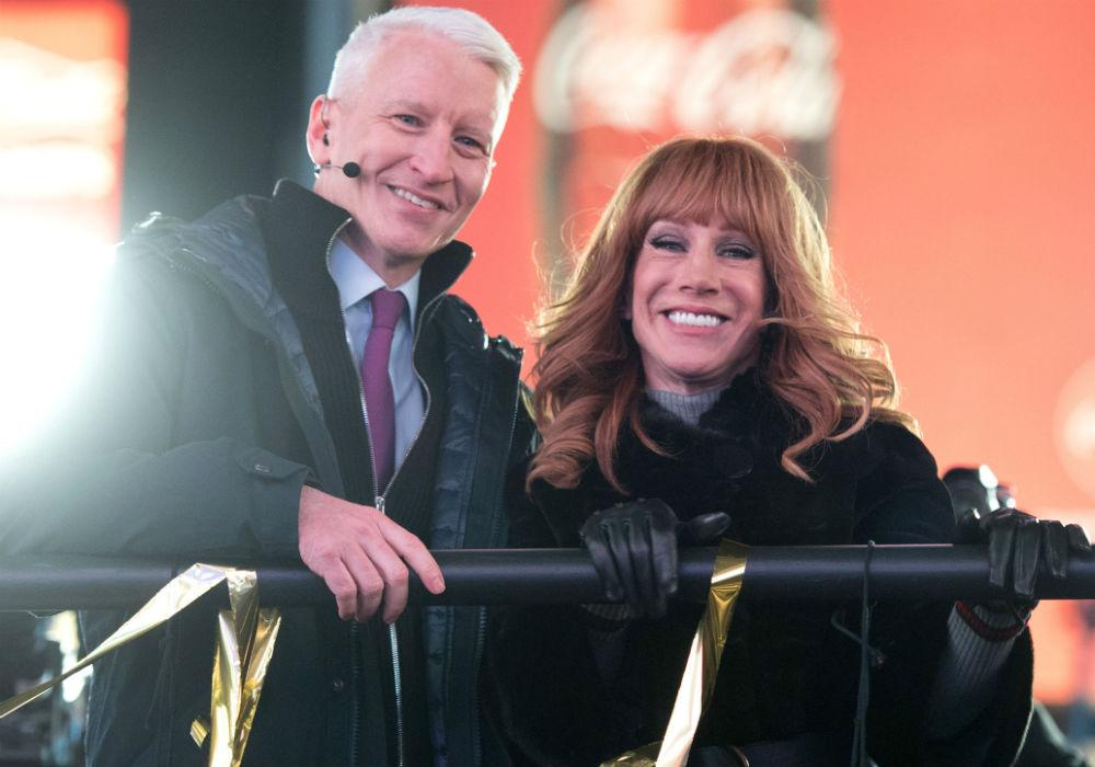 Kathy Griffin Leaves Out Any Mention Of Anderson Cooper In Her Tribute To His Mother Gloria Vanderbilt