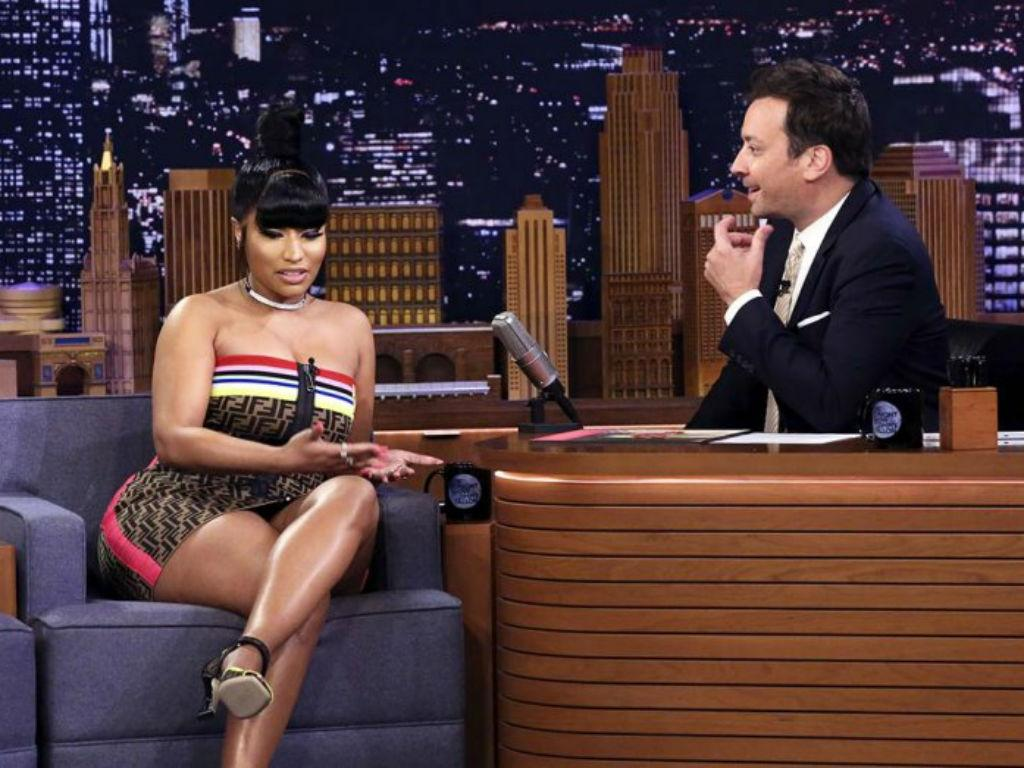 Nicki Minaj Shows Off Freestyle Skills On The Tonight Show With Jimmy Fallon After Confirming New Album