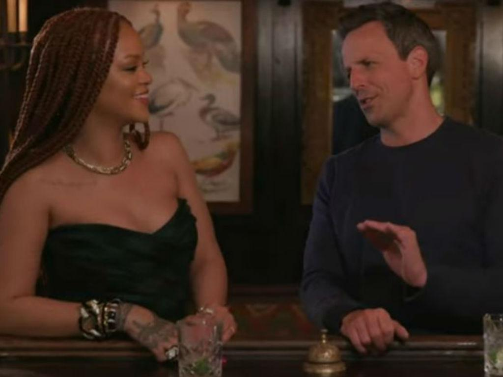 Rihanna And Seth Meyers Day Drinking Shenanigans Turn Disastrous In Hilarious Video