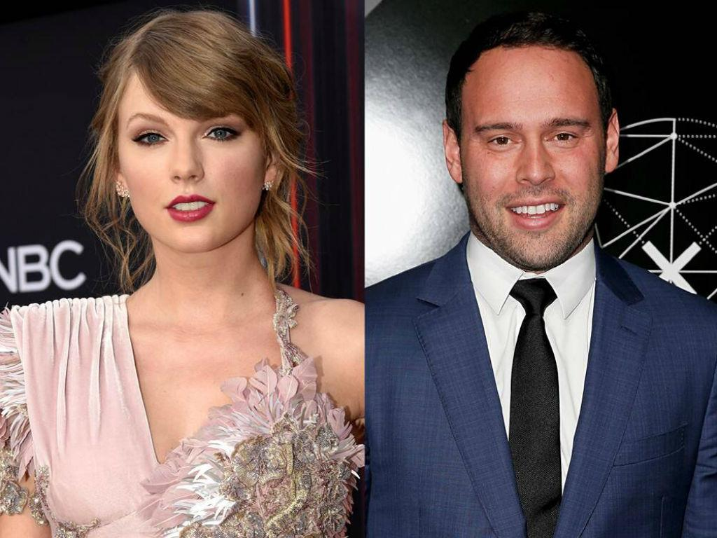 Taylor Swift Disgusted Scooter Braun Owns Her Music Catalog Accuses Him Of Using Kanye West And Justin Bieber To 'Bully Her'
