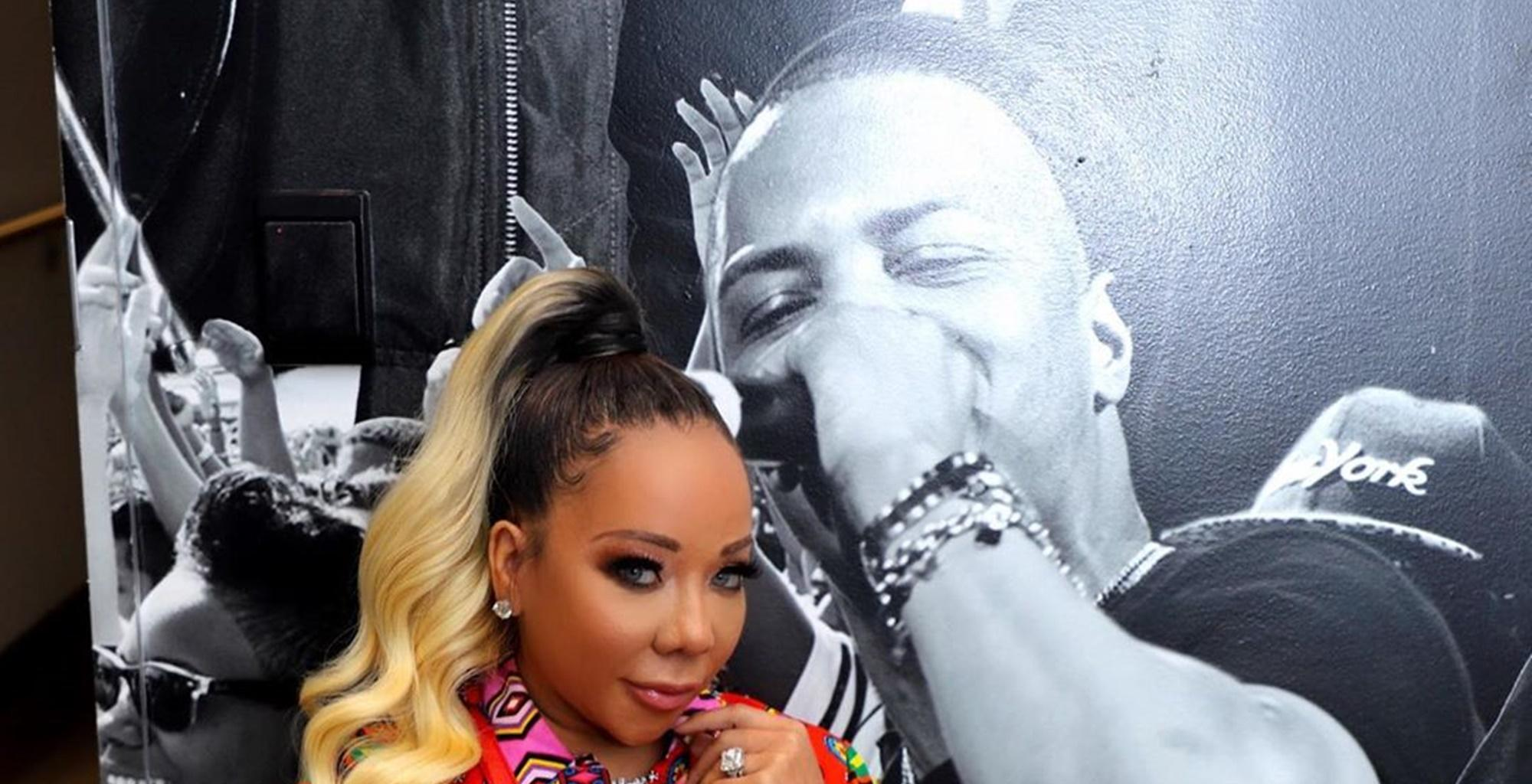 T.I. Has Epic Reaction To Tiny Harris' Father Day Message -- Heiress' Dad Delivers One For The Books