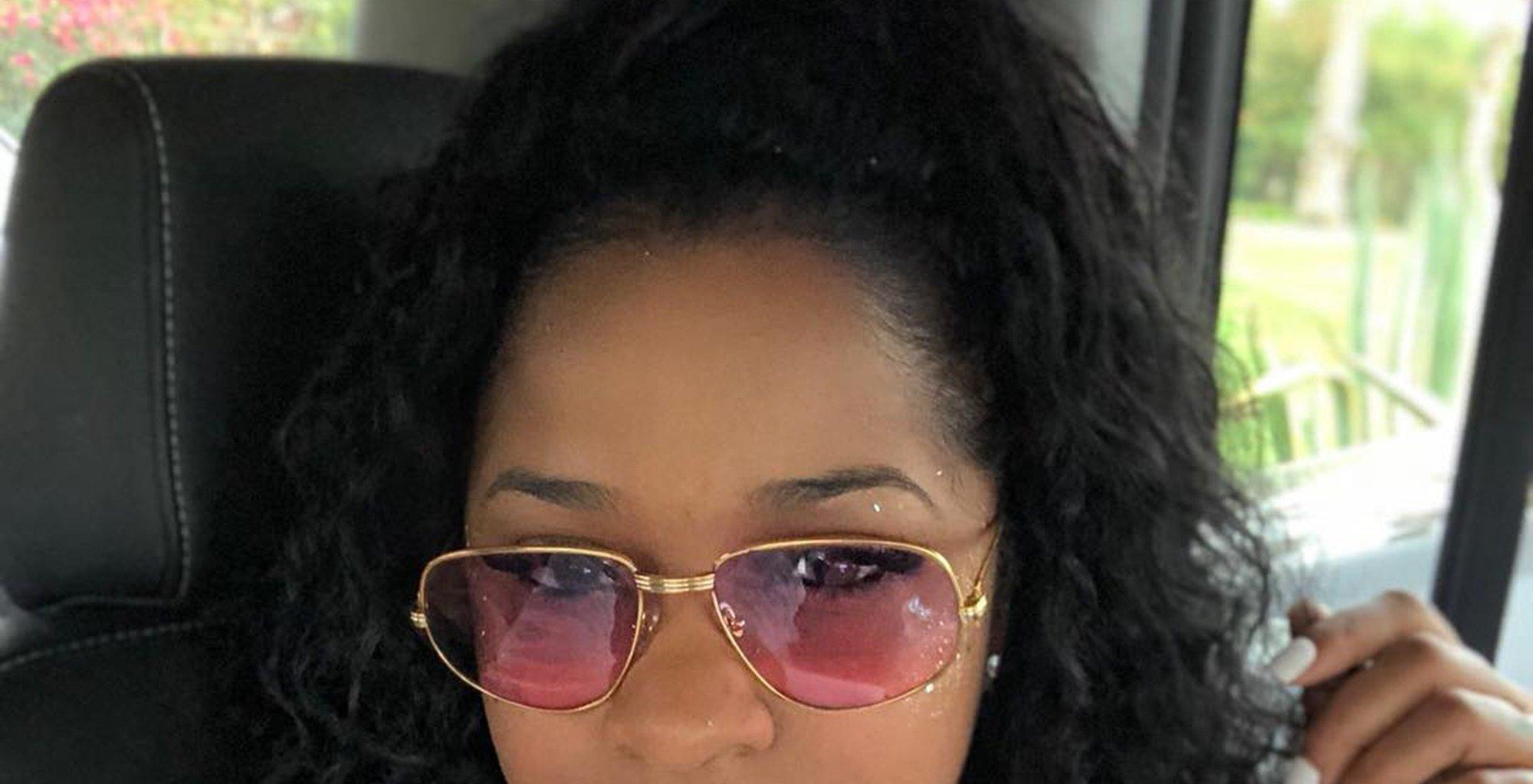 Toya Wright's Latest Jaw-Dropping Look Has Fans In Awe - They Simply Adore Her Skintight Dress