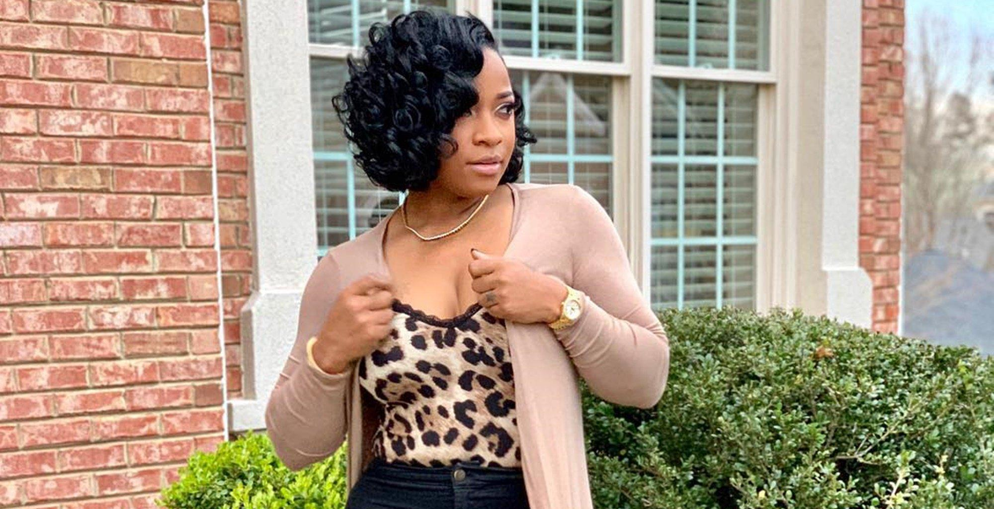 Toya Wright Shares With Fans How She's Becoming A Stronger Person Lately
