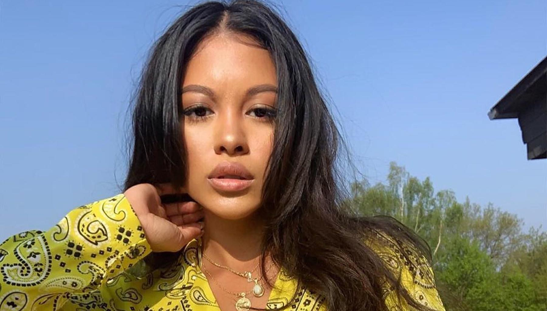 Chris Brown's Ex, Ammika Harris, Confirms She Is Pregnant With His Child Using Raunchy Picture As Crooner Goes After Karrueche Tran And Her New Boo, Victor Cruz