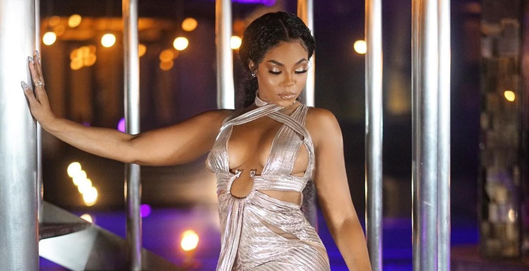 Ashanti's Latest Raunchy Pictures Have Fans Asking, What Is Holding That Dress On These Dangerous Curves? -- See Why Ja Rule's Friend Is Just Like Wine