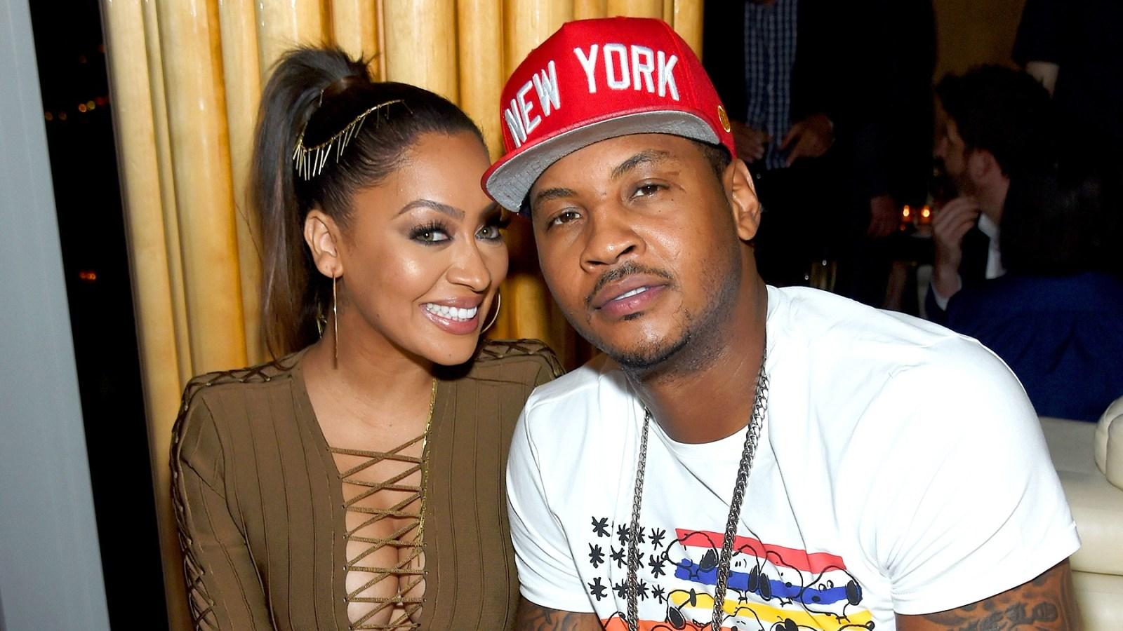La La Anthony Pays Sweet Tribute To 'Hero' Carmelo On Father's Day - 'Thank You For Being An Amazing Dad'